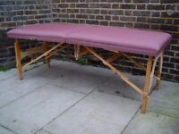 FREE DELIVERY Portable Massage Therapy Table In Purple 9