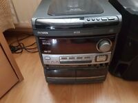 AIWA NSX-V900 STEREO SYSTEM WITH SPEAKER STANDS