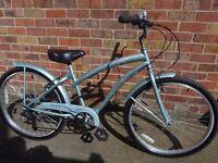 Ladies, Teenage Girls Bike. Fantastic condition, little use. V breaks, 6 gears. Murton