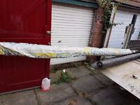 Weed control mat / carpet, 4.5mtrs wide x 100 mtrs long, DN1