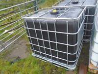 1000 litre water ibc tank