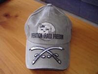 'Operation Iraqi Freedom' Baseball Cap (U.S.Military)