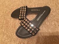 Kennel & schmenger Swarovski sandal mule 3