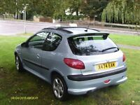 peugeot 206 GTI 3dr 2000 unique manufacturer full option car