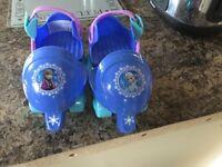 Toddler frozen roller skates
