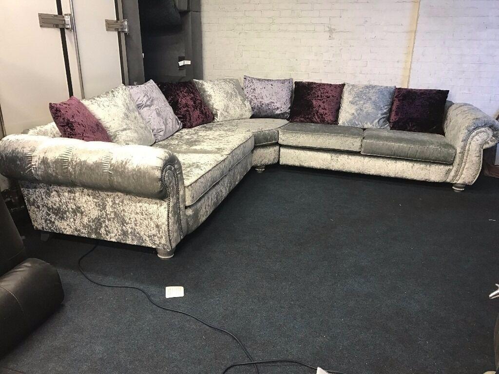 luxury velvet corner sofas. Black Bedroom Furniture Sets. Home Design Ideas