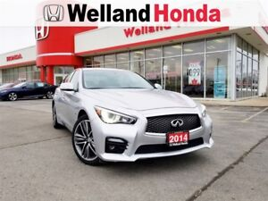2014 Infiniti Q50 SPORT| AWD| ACCIDENT FREE| LOCAL TRADE IN