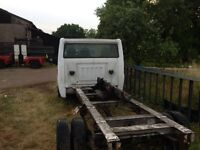 Mk7 FORD TRANSIT CHASSIS CAB LWB SPARES OR REPAIRS £1500 ono