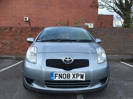 TOYOTA YARIS 1.4 DIESEL 5DR SERVICE HISTORY NEW MOT