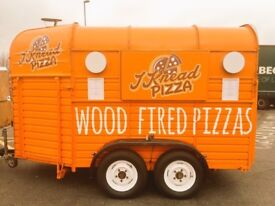 WOOD FIRED PIZZA HORSEBOX TRAILER FOR SALE