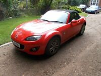 Mazda MX5 mx 5 mx-5. 2010. ***ONLY 25000mls***. 1800. Manual. 5-speed. Mint inside/out. But....Cat-D