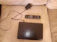 Bush BU102ZRH50,500GB freeview+ Hd Digital TV Recorder,HDMI,USB playback,original remote