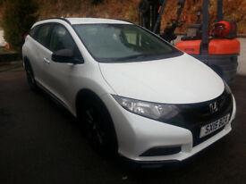 Honda Civic Tourer Black Edition 1.6 Diesel 60MPG+, 3 Free Services to go,