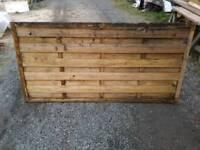 3ft garden fencing panel