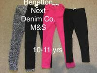 Girls clothes bundle 10/11 + 11/12 years ( Benetton,M&S..)