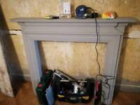 Shabby chic Fire surround