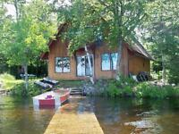 Chalet-style cottage on 1 St Eel River Lake