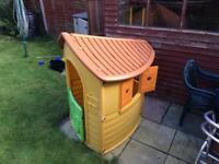 Outdoor playhouse
