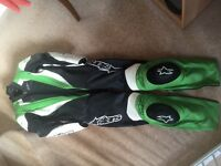 Alpinestars race suit (motorcycle leathers)