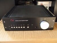 AVI Laboratory Series Integrated Amplifier (S21 M1) with mm/mc phono stage. 200W/channel (8 ohm).