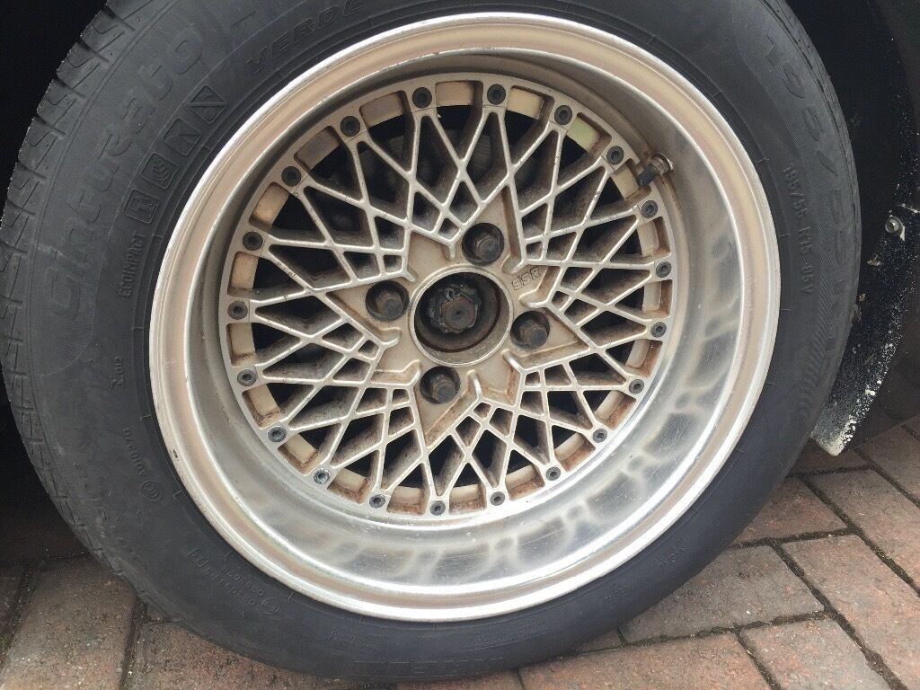 "SSR Formula Mesh 15"" wheels 4x114.3 S13 AE86 KE70 JDM. Not Work Rays."