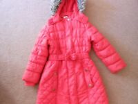 red winter jacket for girl age 5 years