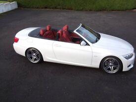 BMW 330D M Sport Auto Convertible 2010 FSH MOT 04/06/2019 Excellent Condition Throughout