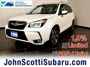 2015 Subaru Forester 2.0 XT LIMITED