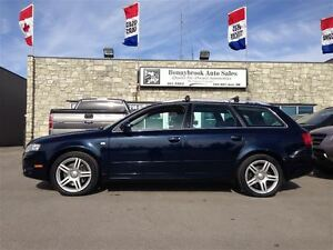 2007 Audi A4 2.0T AWD COMES FULLY MECHANICALLY SAFETY CERTIFIED
