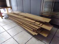 Laminate flooring - slightly less than 17 m2