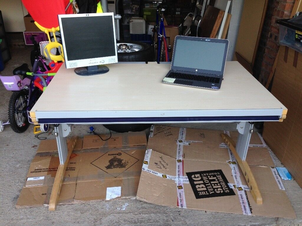 Bed Desk Known As A Besk Is An Office Which