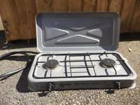 Camping cooker and 907 gas bottle