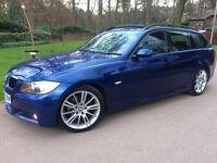 BMW 320D AUTO M SPORT TOURING **PANORAMIC ROOF** FSH PRISTINE CONDITION 2008 57 REG