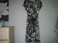 LOVELY LADIES SOPHIE GREY DRESS SIZE 20