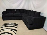 ^^ CASH ON DELIVERY ^^ LIVERPOOL JUMBO CORDED CORNER SOFA OR 3+2 SOFA SET AVAILABLE NOW IN STOCK