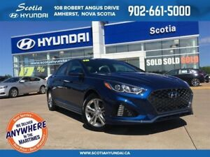 2018 Hyundai Sonata SPORT - $135 Biweekly - ALL NEW LOOK!!