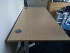 Office Desk £30 Beechwood effect