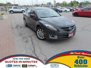 2013 Mazda MAZDA6 GT | LUXURY PACKAGE | LEATHER | ROOF
