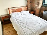 6 Piece set of wooden bedroom furniture