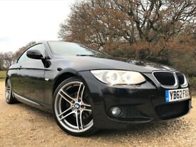 BMW 320d M Sport Convertible *Watch Video* Heated Leather 19s Long MOT NO advisories PDC Cruise