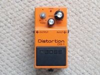 Boss Distortion Pedal