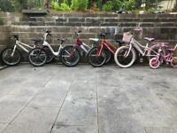 Kids bikes 20 pounds each bike