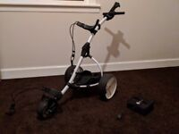 Motocaddy Electric Golf Trolley and Golf Clubs for Sale £325ono