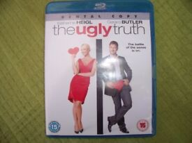 """A film DVD """"The Ugly Truth""""."""