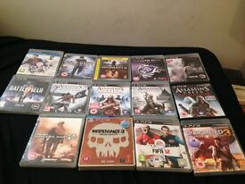 14 PS3 games for sale