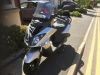 SYM Joyride i200 Scooter 171cc Immaculate ONLY 785miles 1 yrMOT. May px /swap for 600cc m/cycle