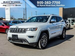 2018 Jeep Grand Cherokee LIMITED, 4X4, SUNROOF, BACKUP CAM, REMO