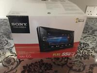 Boxed Sony XAV-65 Double Din Touch Screen Stereo MP3 Aux iPhone IPod USB Car DVD Player AM FM Audio