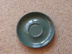 Greenwheat by Denby Tea cup saucers