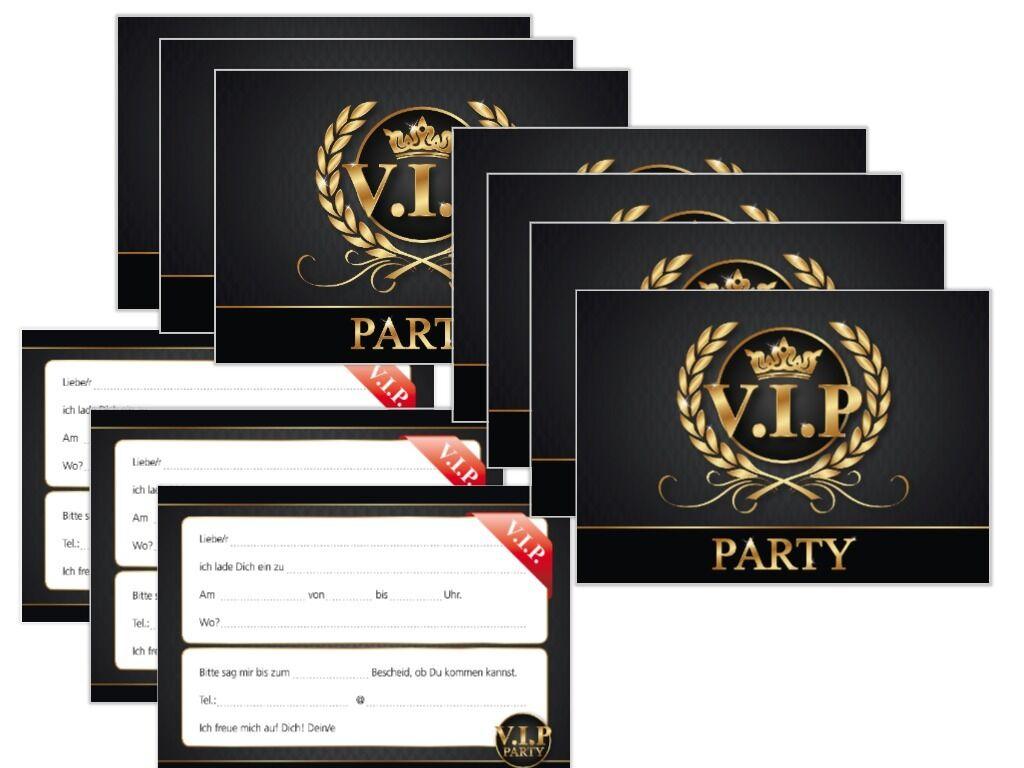 vip einladungen